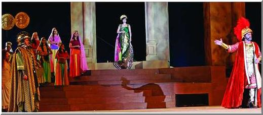 Zenobia, World's greatest theater play by Mansour Rahbani, Dubai Media City