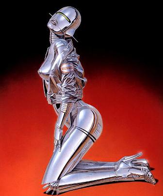 Hajimi Sorayama - sexy robots
