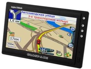 جهاز التوجيه الجغرافي المبني على خدمات منظومة جلوناس لتحديد الموقع الجغرافي